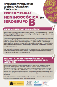 Folleto Meningococo B